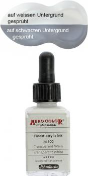 Schmincke Aero Color 100 Transparent Weiss 28ml