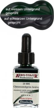 Schmincke Aero Color 504 Chromoxidgrün 28 ml