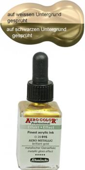 Schmincke Aero Metallic brilliant gold 28 ml