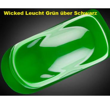 Wicked Colors 023 Leuchtfarbe GREEN 60 ml