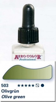 Schmincke Aero Color 503 Olivgrün 28 ml