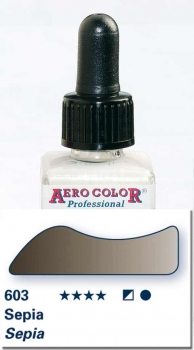 Schmincke Aero Color 603 Sepia 28 ml