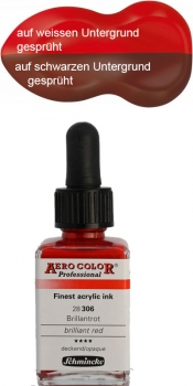 Schmincke Aero Color 306 Brillantrot 250 ml