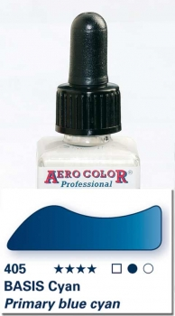 Schmincke Aero Color 405 Basis Cyan 250 ml