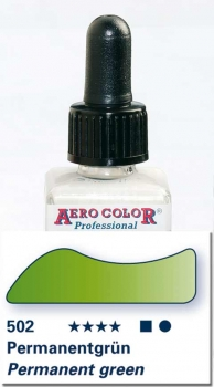 Schmincke Aero Color 502 Permanentgrün 250 ml