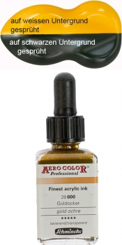 Schmincke Aero Color 600 Goldocker 250 ml