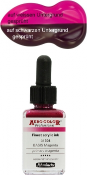 Schmincke Aero Color 304 Basis Magenta 1000 ml