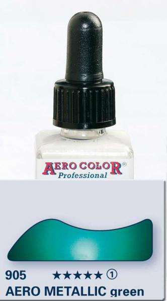 Schmincke Metallic green 28 ml