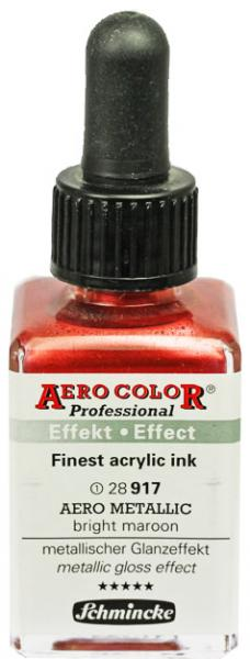 Schmincke Aero Metallic brilliant bright maroon 28 ml