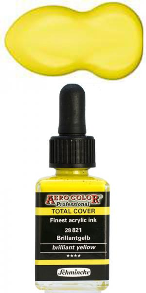 Schmincke Aero Color Total Cover 821 Brilliantgelb 28 ml