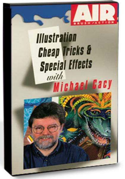 Airbrush DVD - Illustration Cheap Tricks & Special
