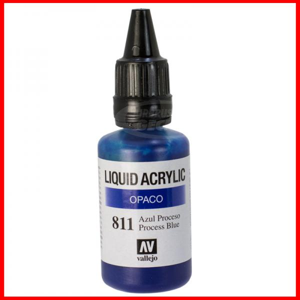Vallejo Liquid Acrylic 811 Blau 32 ml